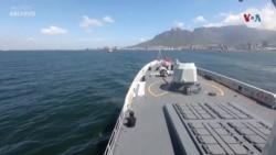 Maniobras navales de China, Irán y Rusia