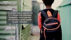 U.S. Supports G-7 Girls' Education Declaration