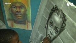 Nghệ sĩ nhí vẽ tranh cực thực