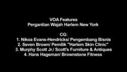 Pergantian Wajah Harlem, New York