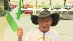 王献极称坚决将台湾旗带入世大运会场原声视频
