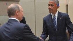 Obama y Putin discuten sobre Siria