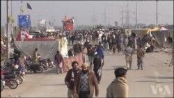 Tension au Pakistan où les islamistes sont toujours dans la rue (vidéo)