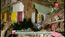 Escenas del terremoto en Chile