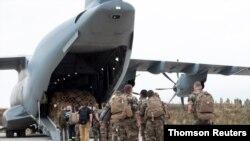 Operación de evacuación de varias decenas de ciudadanos franceses de Afganistán, el lunes 16 de agosto de 2021.