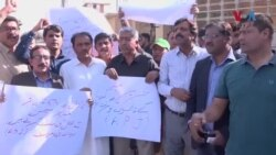 صحافی کے قتل کے خلاف کراچی میں احتجاج