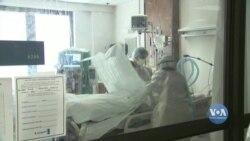 Рекордна кількість людей перебуває сьогодні у лікарнях США з ускладненнями внаслідок COVID-19. Відео