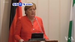 VOA60 Afirka: Shugabar Kasar Jamus Angela Merkel Ta Gana Da Shugaba Muhammadu Buhari A Abuja