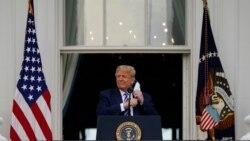 ေဆး႐ုံကဆင္းၿပီး သမၼတ Trump ပထမဦးဆုံးအႀကိမ္ လူထုေတြ႔ဆုံပြဲ က်င္းပ
