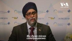 Міністр оборони Канади про навчання «Сі-Бриз» та підтримку України. Відео