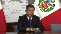 Congreso peruano debate renuncia de presidente Kuczynski