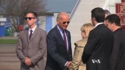 Biden in Ukraine as Geneva Deal on Crisis Faltering