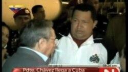 Chávez retorna a La Habana