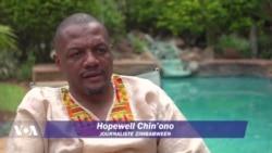 Hopewell Chin'ono, fer de lance de la liberté de la presse au Zimbabwe
