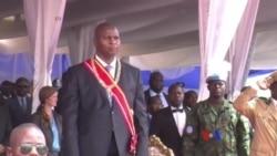 Faustin-Archange Touadéra investi président en Centrafrique