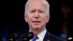 အေမရိကန္သမၼတ Joe Biden။ (မတ္ ၂၄၊ ၂၀၂၁)