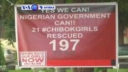 VOA60 AFIRKA: NIGERIA Wata Kungiya Mai Fafutukar Ganin An Sako 'Yan Matan Chibok, Ta Na Barka Da Aka Sako Wasu 21