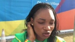 JO 2016 : la nageuse malienne Fatoumata Samassekou