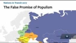 У звіті «Дому Свободи» Україну називають позитивним винятком у все більш авторитарному регіоні. Відео