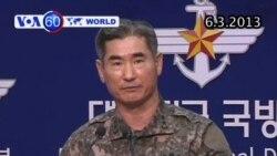 Hàn Quốc sẵn sàng phản công Bắc Triều Tiên (VOA60)