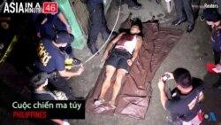 Cuộc chiến chống ma tuý ở Philippines (VOA60 châu Á)