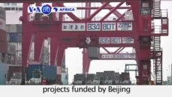 VOA60 Africa - Slowdown in China affects African commerce and infrastructure projects funded by Beijing - September 9, 2015