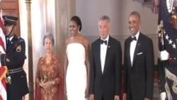 奧巴馬國宴招待李顯龍