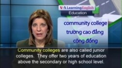 Anh ngữ đặc biệt: US Community Colleges (Edu-Rep)