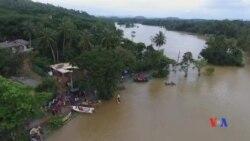 2017-05-30 美國之音視頻新聞:斯里蘭卡洪水泥石流180人遇難 (粵語)