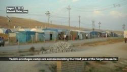 Yazidis Continue to Struggle in Refugee Camps 3 Years After IS Massacre