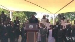 Ayiti: Yon Seremoni Ofisyèl pou Raple Memwa Viktim Tranblemanntè 12 Janvye 2010 yo