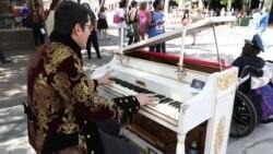 اجرای موسیقی و رقص خیابانی در جشنوارهٔ اساکساسدبلیو