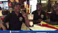Mashabiki wa soka wa Uganda Cranes wakiwa na matumaini kabla ya kuanza mashindano ya AFCON.