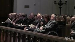 美国前第一夫人芭芭拉·布什葬礼举行 四位前总统参加