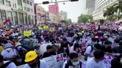 缅甸当局切断互联网服务 为恢复秩序噤声制止抗议