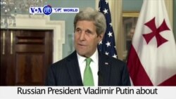 VOA60 World PM - Kerry to Meet with Putin on Moscow's Troop Withdrawal from Syria