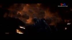 Vezüv Yanardağındaki Patlama Beyazperdede