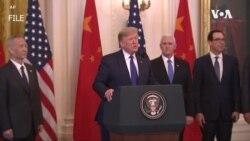 美中官員審查貿易協定執行情況 雙方承諾繼續努力