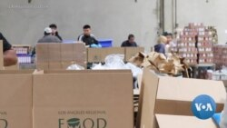 VOA英语视频: 慈善机构几近挣扎满足不断上升的食品需求