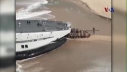 Việt Nam yêu cầu Trung Quốc dừng tập trận trên biển Đông