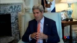 2015-07-19 美國之音視頻新聞:克里星期日亮相各大電視台推銷伊朗核協議