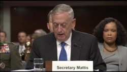 马蒂斯部长谈所有作战领域都有竞争原声视频(国会视频)