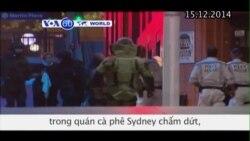 Khủng hoảng con tin trong quán cà phê Sydney chấm dứt (VOA60)