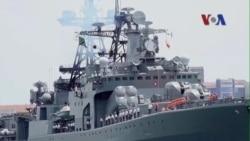Hạm đội Thái Bình Dương của Nga cập cảng Cam Ranh
