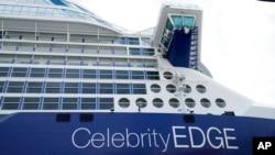 အေပ်ာ္စီးသေဘၤာ Celebrity Edge. (ဇြန္ ၂၆၊ ၂၀၂၁)
