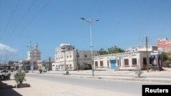 Hali ilivyokuwa mini Hadharalmout baada ya kutangazwa hali ya kutotoka nje ikiwa hatua ya kuzuia maambukizi ya virusi vya corona Yemen April 10, 2020. Picha na REUTERS/Ibrahim al-Bakri.