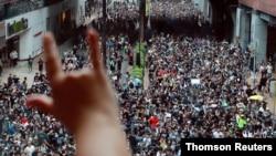 Демонстрация в Ша-Тине