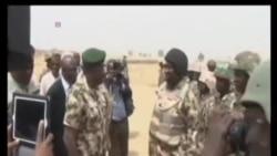 尼日利亞總統突訪被收復地區