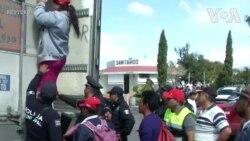 Xe tải chở di dân từ Puebla đến Mexico City