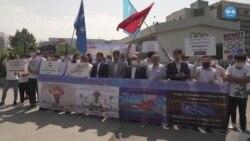 Uygurlar'dan Pekin Olimpiyatları'nı Boykot Çağrısı